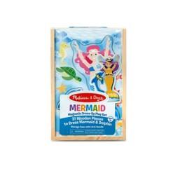 Melissa & Doug Mermaid Magnetic Dress-up