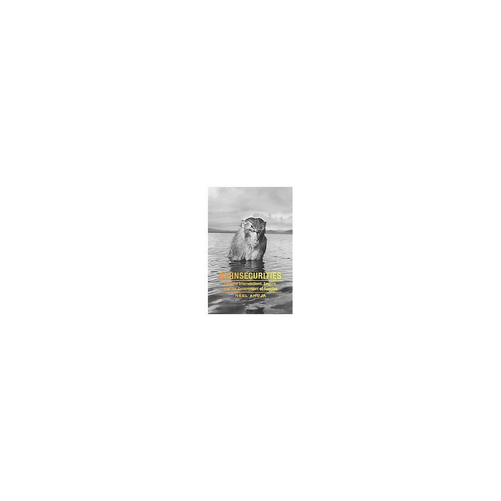 Bioinsecurities ( +anima) (Hardcover)
