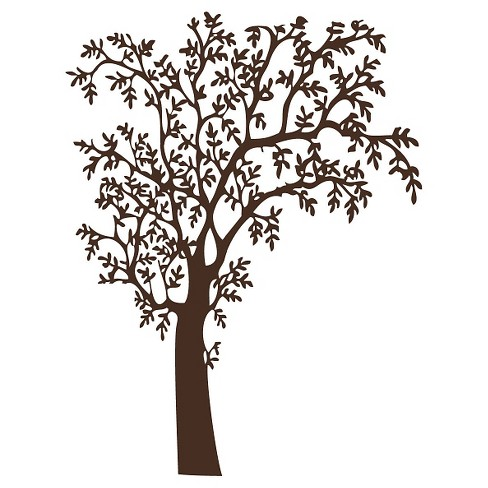 O'Nature Wall Decal - Brown - image 1 of 2