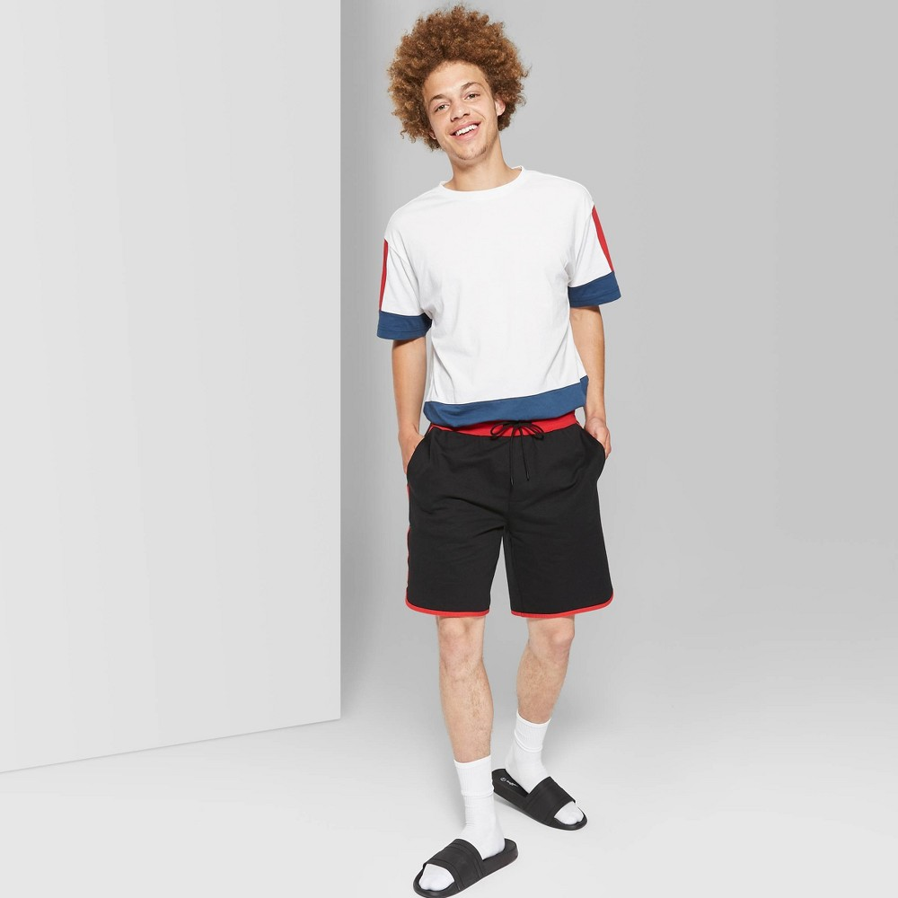 "Image of ""Men's 9"""" High-Rise Jogger Shorts - Original Use Black 2XL"""