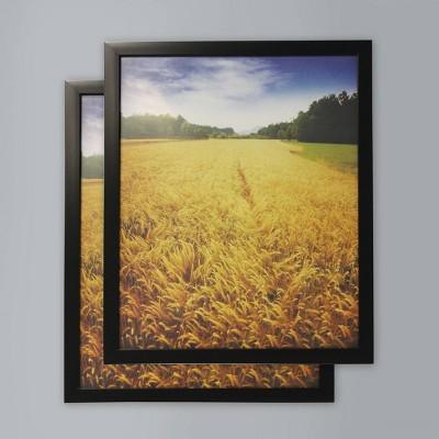 """(Set of 2) 16"""" x 20"""" Poster Frame Black - Room Essentials™"""