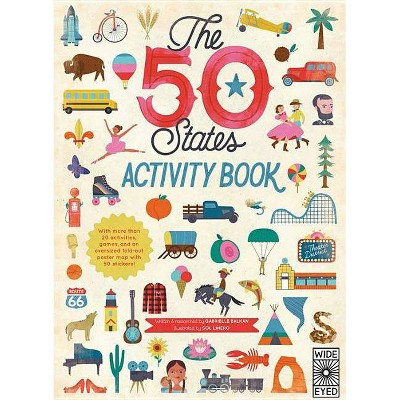 The 50 States: Activity Book - by  Gabrielle Balkan (Paperback)