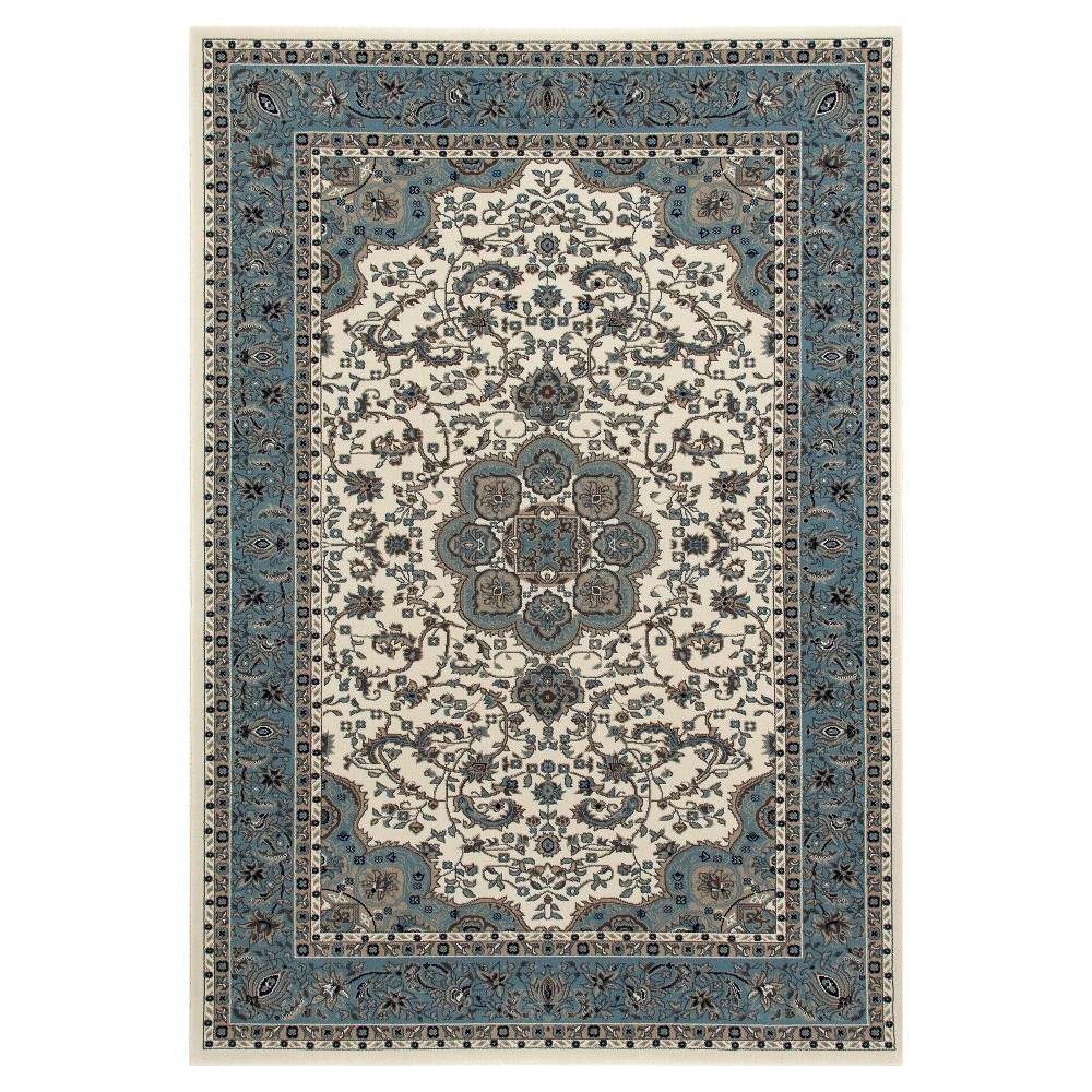 Image of Cream Classic Woven Area Rug - (5'X8') - Art Carpet