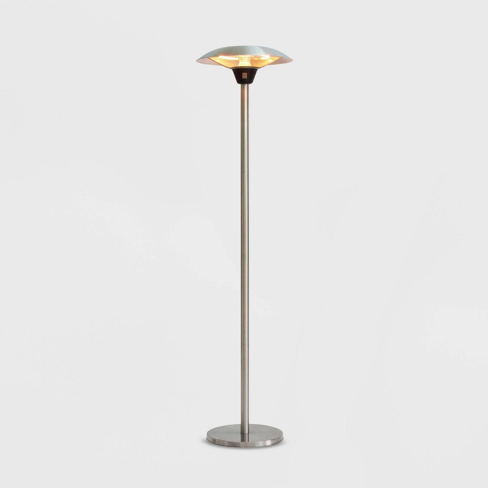 Image of Frisco Halogen Stainless Steel Patio Heater - Silver - Fire Sense