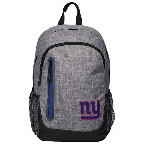 NFL New York Giants Forever Collectibles - Heather Grey Bold Color Backpack 2aa96e567