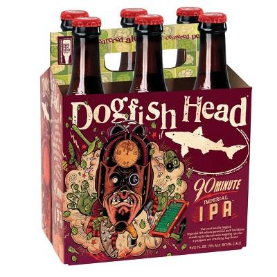 Dogfish Head 90 Minute Imperial IPA Beer - 6pk/12 fl oz Bottles