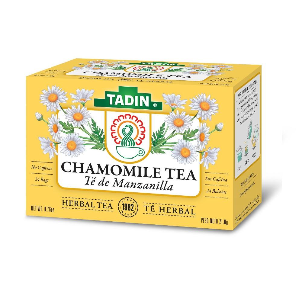 Tadin Manzanilla Chamomile Tea - 24ct