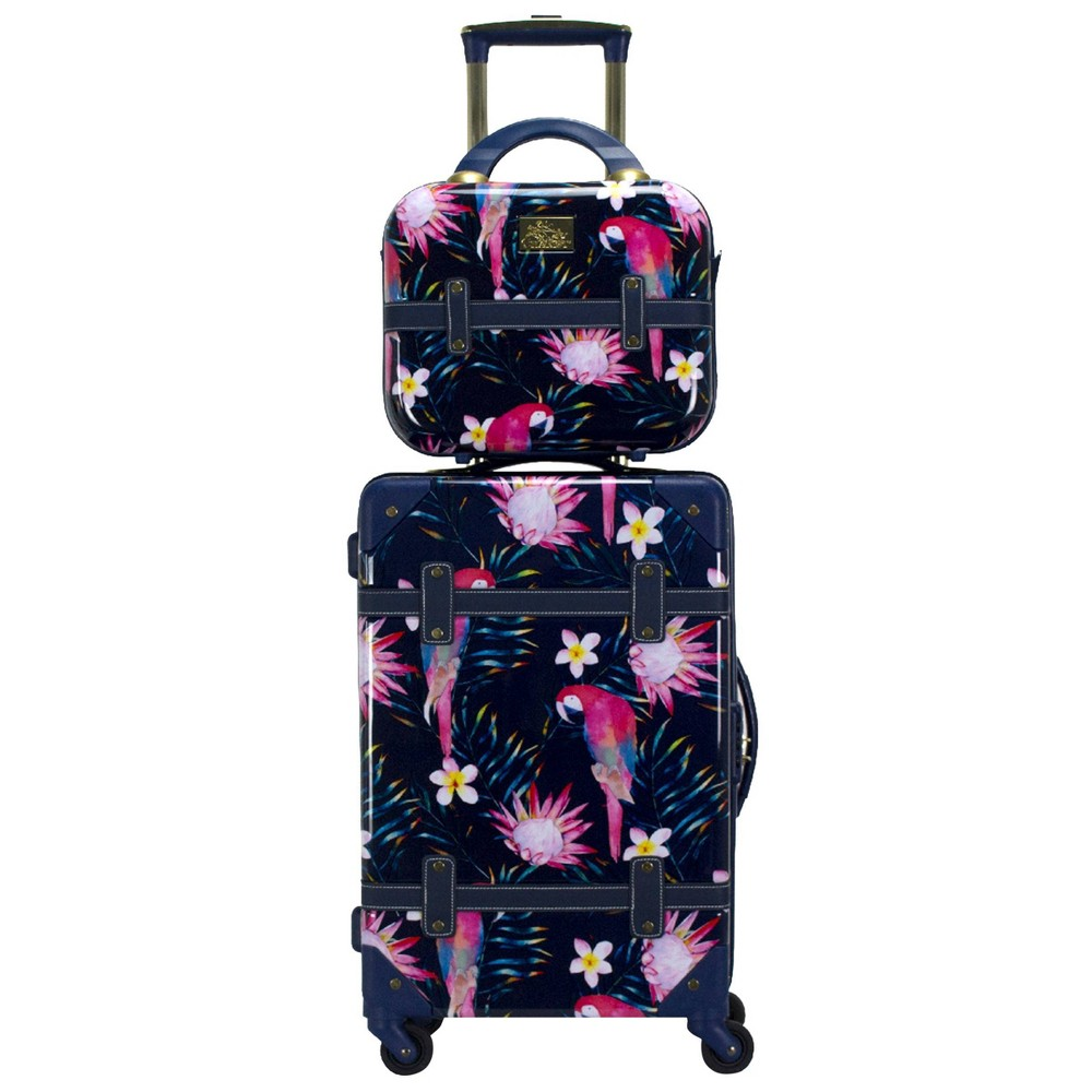 Chariot Travelware Parrot 2pc Luggage Set