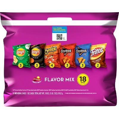 Frito-Lay Variety Pack Flavor Mix - 18ct