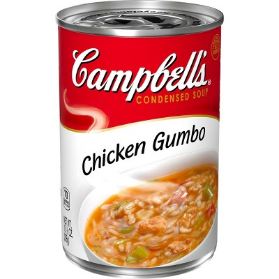 Campbell's Condensed Chicken Gumbo Soup 10.5oz