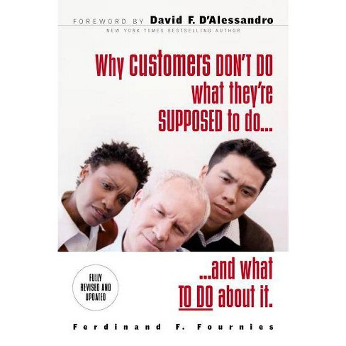 Why Customers Don't Do What They're Supposed to and What to Do about It - by  Ferdinand F Fournies - image 1 of 1