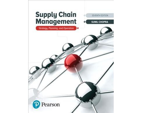 Supply Chain Management : Strategy, Planning, and Operation -  by Sunil Chopra (Hardcover) - image 1 of 1