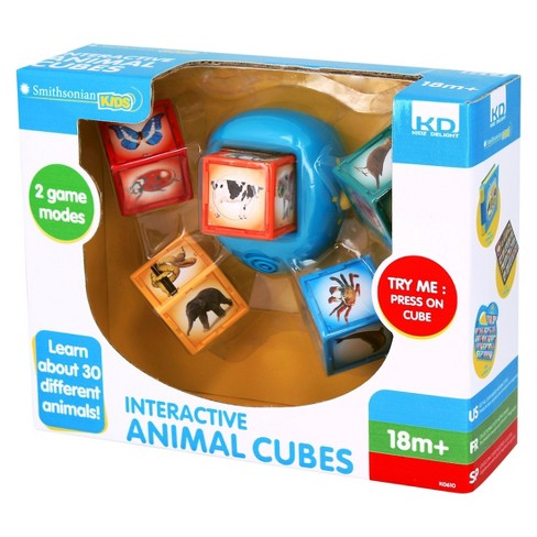 KIDZ D Smithsonian Kids Animal Cubes - image 1 of 1