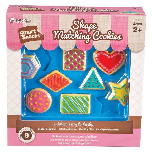 Learning Resources Smart Snacks Shape Matching Cookies - image 1 of 2