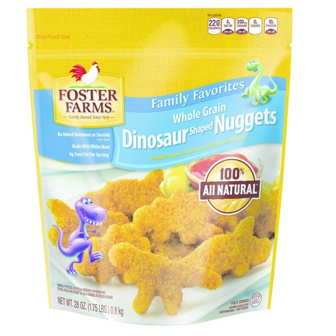 Foster Farms Whole Grain Dino Nuggets - 28oz - image 1 of 1