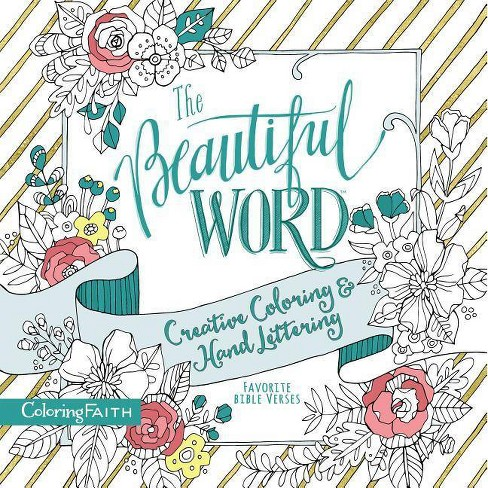The Beautiful Word Adult Coloring Book - (Coloring Faith) by  Zondervan (Paperback) - image 1 of 1