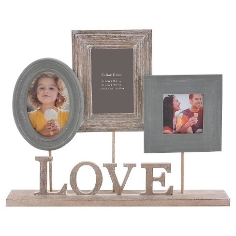 Burnes Of Boston Multiple Image Frame Mid Gray Target