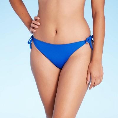 Juniors' Ribbed String Cheeky Bikini Bottom - Xhilaration™