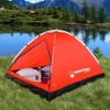 Wakeman 2-Person Water Resistant Dome Tent - Red/Gray - image 3 of 4