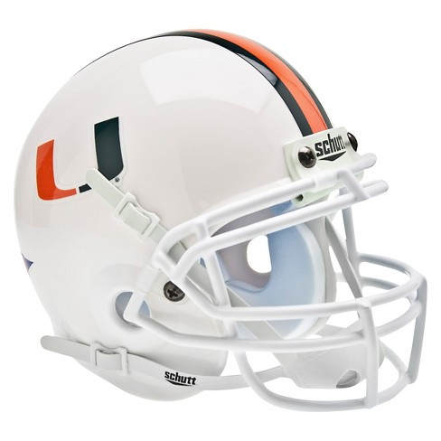 Miami Hurricanes Schutt Mini Helmet - image 1 of 1