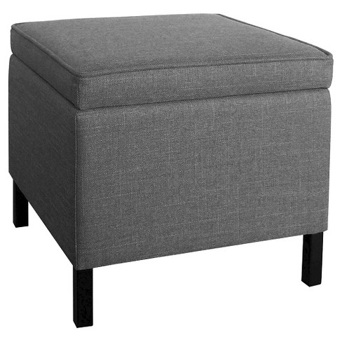 Storage Ottoman - Gray - Room Essentials™ - image 1 of 1