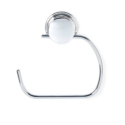 Stick N Lock Plus Kroma Toilet Roll Or Towel Holder Chrome - Better Living Products