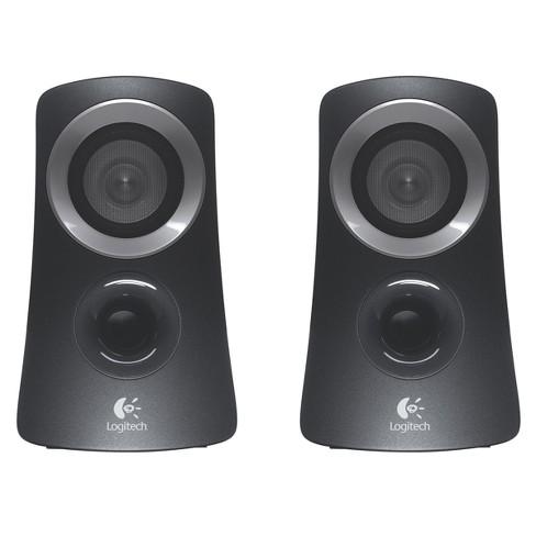 9d467b744c3 Logitech Z313 Speaker System With Subwoofer - Black (980-000382) : Target