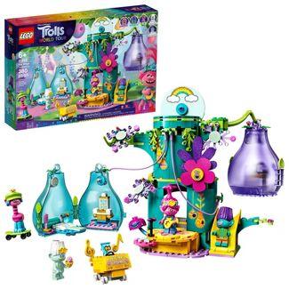 LEGO Trolls World Tour Pop Village Celebration Tree House Building Kit 41255