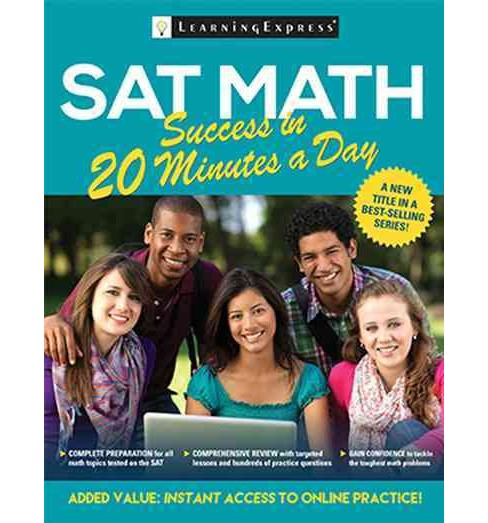 SAT Math Success in 20 Minutes a Day (Paperback) - image 1 of 1