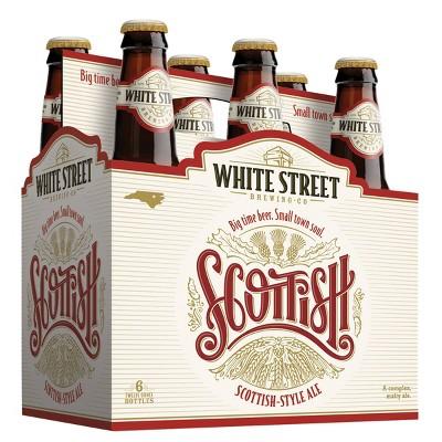 White Street Scottish Ale Beer - 6pk/12 fl oz Bottles