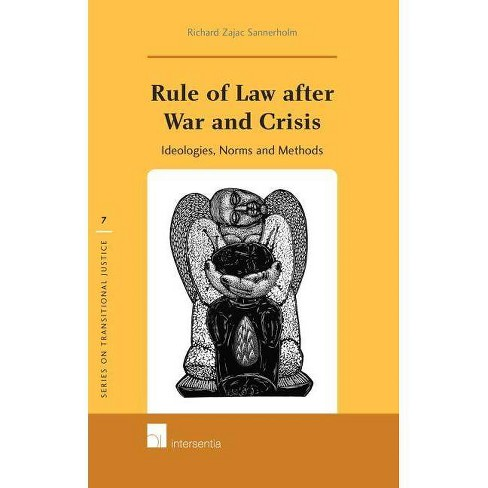 Rule of Law After War and Crisis - (Series on Transitional Justice (Hardcover)) (Hardcover) - image 1 of 1