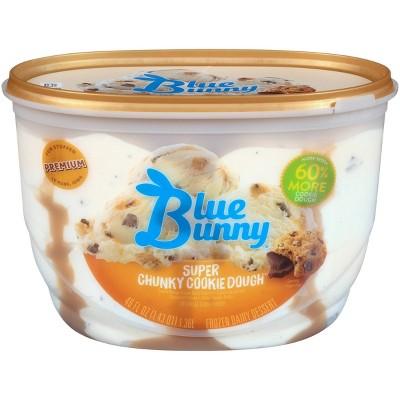 Blue Bunny Super Chunky Cookie Dough Ice Cream - 46 fl oz