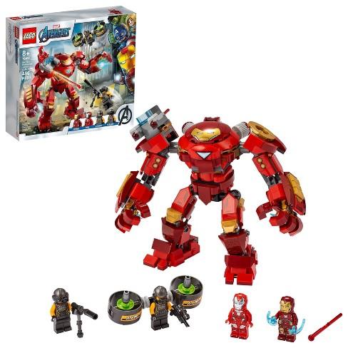 LEGO Marvel Avengers Iron Man Hulkbuster Versus A.I.M. Agent Superhero Playset 76164 - image 1 of 4