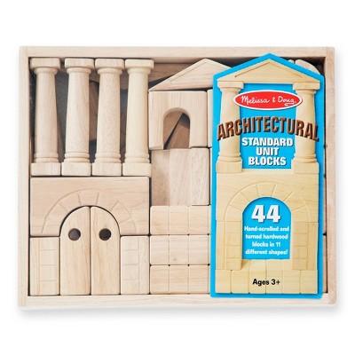 Superbe Melissa U0026 Doug® Architectural Wooden Unit Block Set With Storage Crate  (44pc) : Target