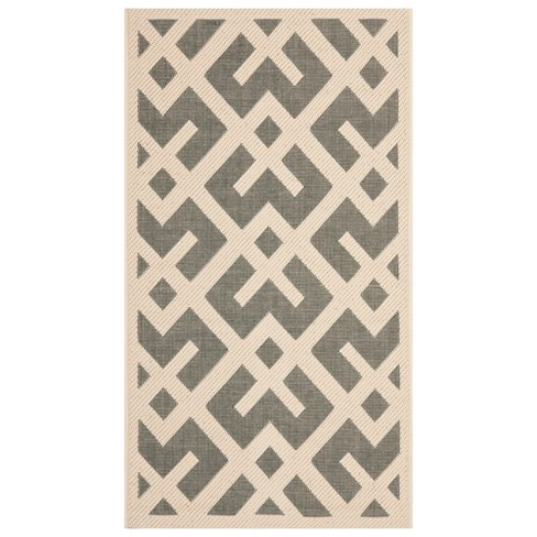 Kassel Patio Rug - Gray / Bone - Safavieh® - image 1 of 1