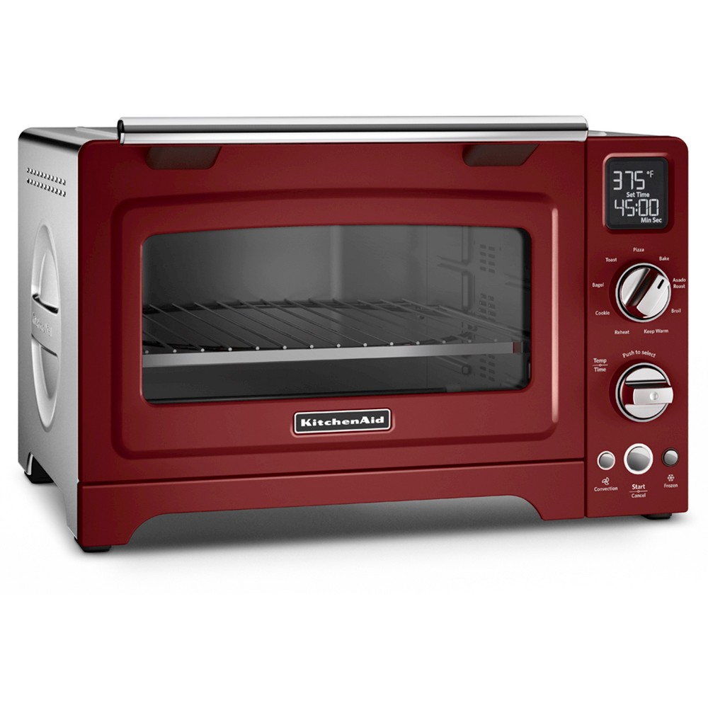 KitchenAid 12 Convection Digital Countertop Oven – KCO275, Deep Red 49154090