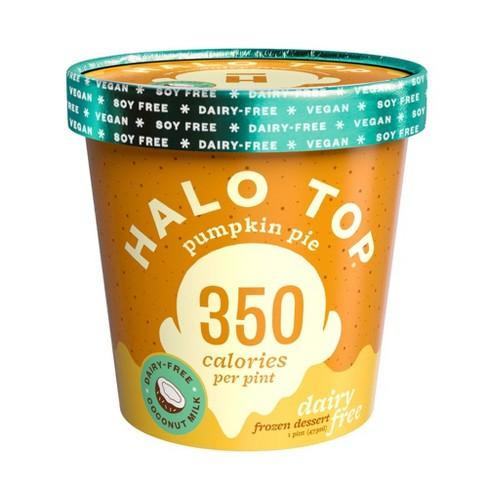 Halo Top Non-Dairy Pumpkin Ice Cream - 1pt - image 1 of 1