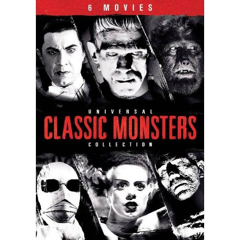 Universal Classic Monsters The Essential Collection Dvd Target
