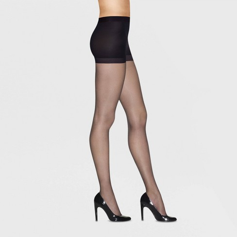 e29a6f22745 Hanes Premium Women s 2pk Ultra Sheer Light Coverage Pantyhose   Target