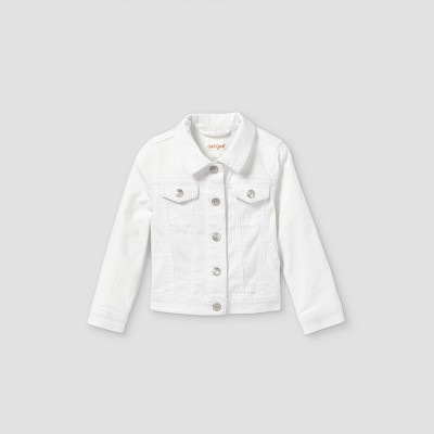 Toddler Girls' Denim Jacket - Cat & Jack™ White