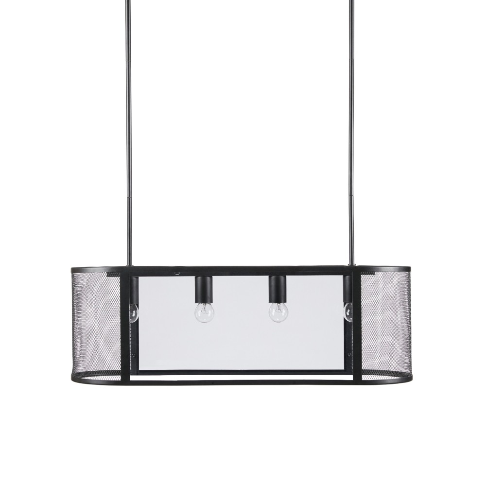 "Image of ""Hopkins Pendant Black 30"""" x 9.5"""""""