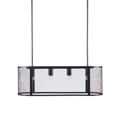 "Hopkins Pendant Black 30"" x 9.5"" - image 1 of 6"