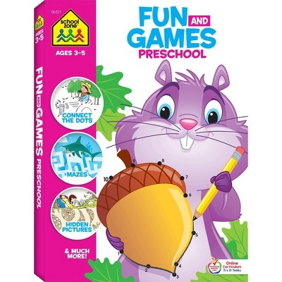 Fun & Games Preschool - (Fun and Games)(Paperback)