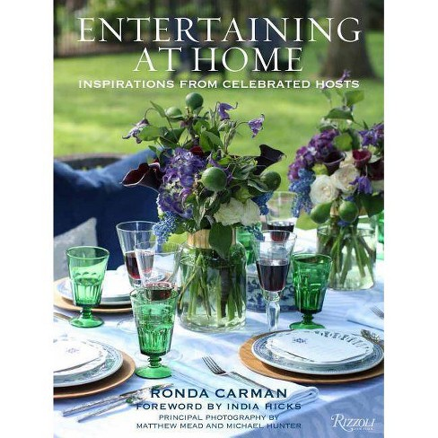 Entertaining at Home - by  Ronda Carman (Hardcover) - image 1 of 1