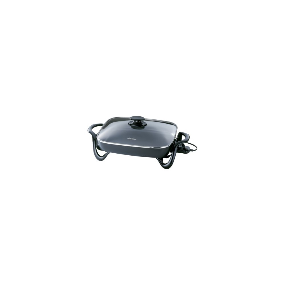 Presto 16 Electric Skillet- 06852, Black 10146094