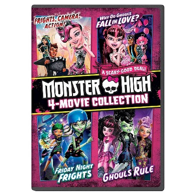 Monster High: 4-Movie Collection (DVD)