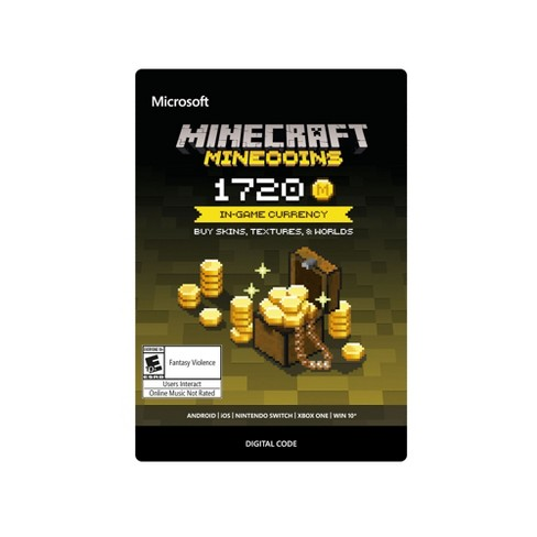 Minecraft: Minecoins 1720 Coins - Xbox One (Digital) - image 1 of 1