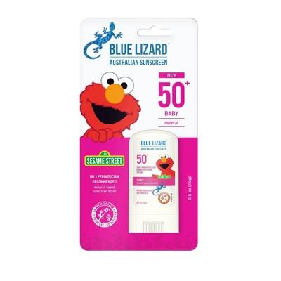 Blue Lizard Baby Sunscreen Stick - Elmo - SPF 50 - 0.5oz