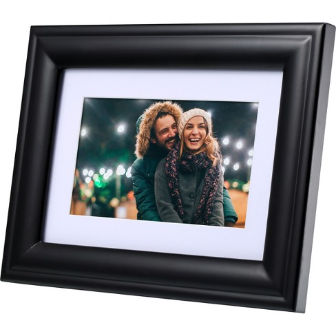 Polaroid Digital Photo Frame 7 Screen Black With Mat Target