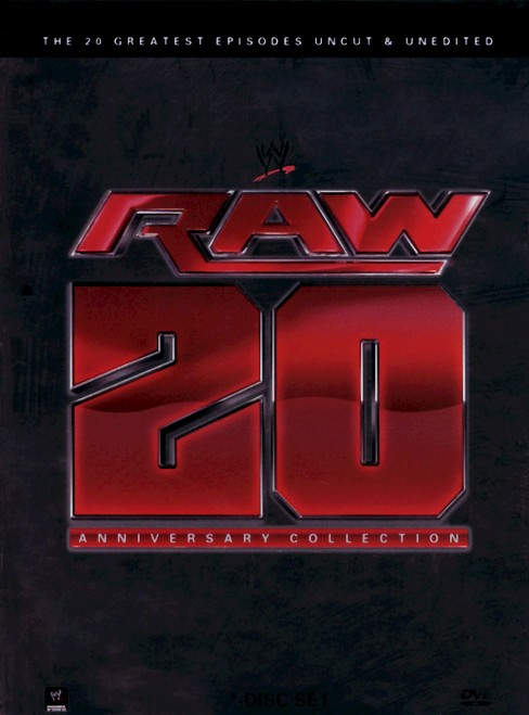 Raw 20th Anniversary Collection:20 Gr (DVD) - image 1 of 1
